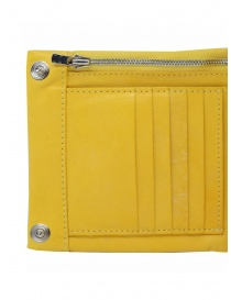 Guidi B7 CO07T wallet in yellow leather price
