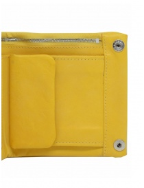 Guidi B7 CO07T wallet in yellow leather wallets buy online
