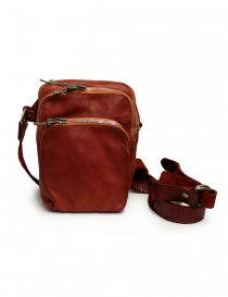 Guidi BR02 small backpack in red leather BR02 SOFT HORSE FULL GRAIN 1006T order online
