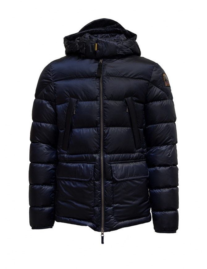 Parajumpers Greg blue hooded down jacket PMJCKSX04 GREG BLUE 706 mens jackets online shopping