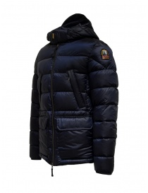 Parajumpers Greg blue hooded down jacket mens jackets buy online