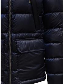 Parajumpers piumino Greg blu con cappuccio giubbini uomo prezzo