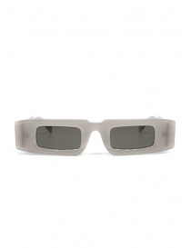 Occhiali online: Kuboraum occhiali X5 rettangolari semitrasparenti