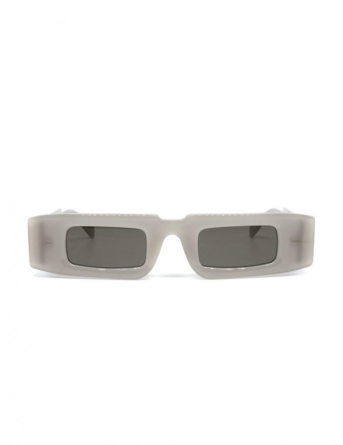 Kuboraum X5 rectangular semi-transparent glasses X5 48-28 AR MUSK glasses online shopping