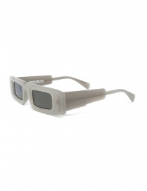 Kuboraum X5 rectangular semi-transparent glasses