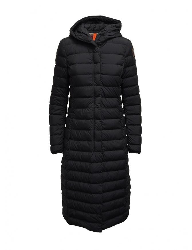 Parajumpers Omega long matte black down jacket PWJCKSL37 OMEGA BLACK 541 womens coats online shopping
