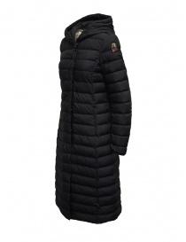 Parajumpers Omega long matte black down jacket price
