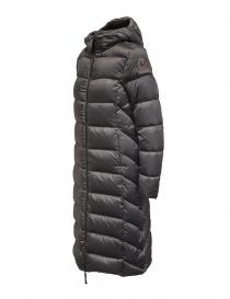 Parajumpers Leah piumino lungo grigio con cappuccio cappotti donna acquista online