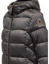 Parajumpers Leah piumino lungo grigio con cappuccioshop online cappotti donna