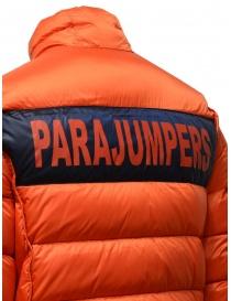 Parajumpers Jackson Reverso piumino blu arancio acquista online prezzo
