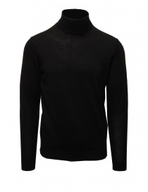 Selected black merino wool turtleneck online