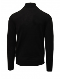 Selected black merino wool turtleneck
