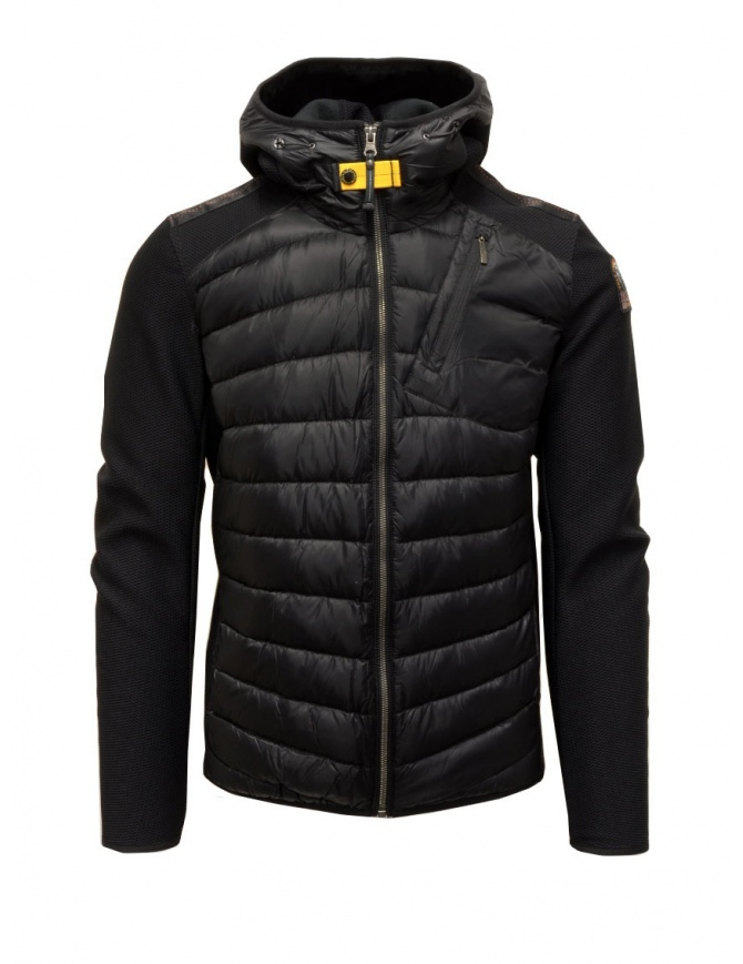 Parajumpers Nolan black PMJCKWU02 NOLAN BLACK 541 mens jackets online shopping