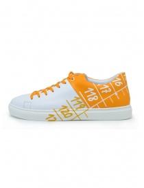 Il Centimetro Ambition sneakers gialle e bianche