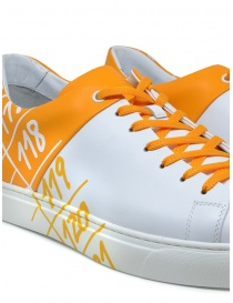 Il Centimetro Ambition yellow and white sneakers mens shoes price
