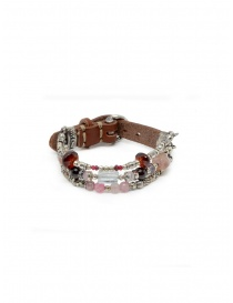 Jewels online: ElfCraft bracelet with strap and colored stones