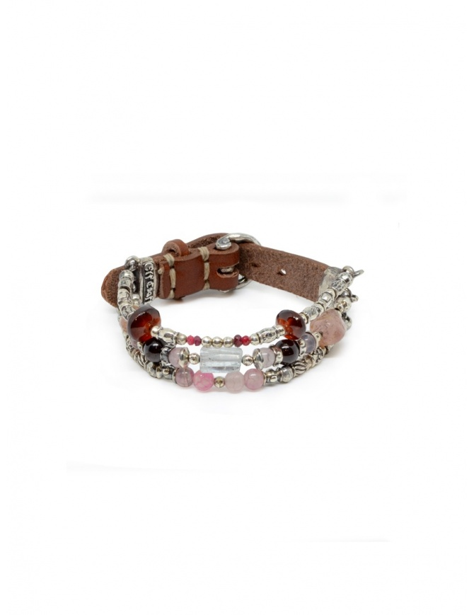 Bracciale ElfCraft con cinturino e pietre colorate 213.88.87.286+7 preziosi online shopping