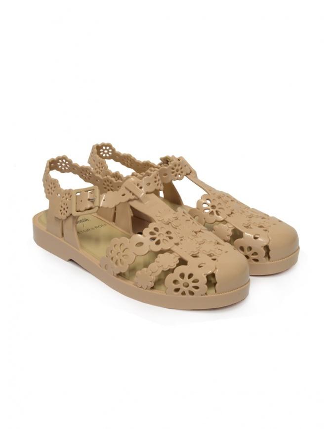 Melissa + Viktor & Rolf Possession sandals Lace Irish beige 32987 16437 BEIGE IRISH OP womens shoes online shopping