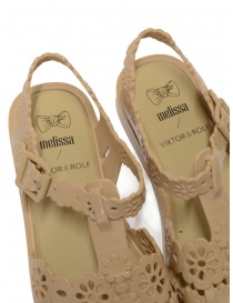 Melissa + Viktor & Rolf sandali Possession Lace Irish beige calzature donna prezzo