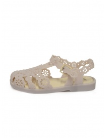 Melissa + Viktor & Rolf Possession Lace beige sandals