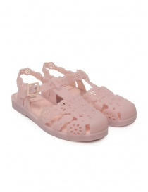 Womens shoes online: Melissa + Viktor & Rolf Possession Lace pink sandals