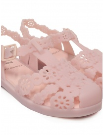Melissa + Viktor & Rolf Possession Lace pink sandals womens shoes price