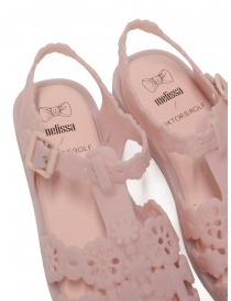 Melissa + Viktor & Rolf Possession Lace pink sandals buy online price