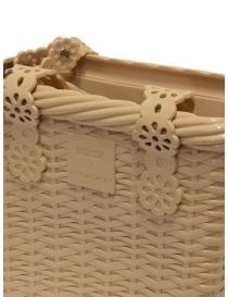 Melissa + Viktor & Rolf borsa beige Irish borse acquista online