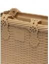 Melissa + Viktor & Rolf Irish beige bag 34224 16437 BEIGE IRISH OP buy online