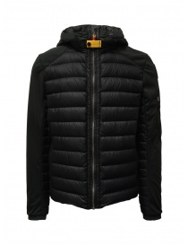 Parajumpers Kinari black jacket with fabric sleeves online