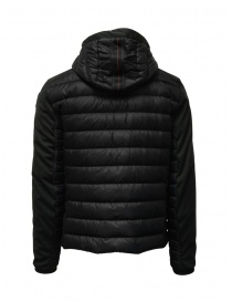 Parajumpers Kinari black jacket with fabric sleeves price