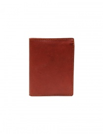 Guidi PT3 wallet in red kangaroo leather online