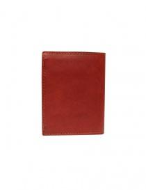 Guidi PT3 wallet in red kangaroo leather price