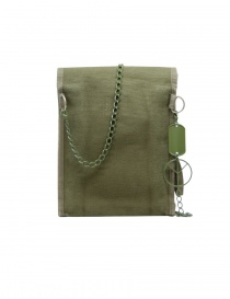 Kapital khaki bag with smile button price