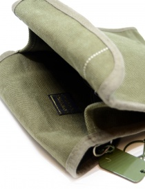 Kapital khaki bag with smile button bags price