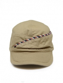 Kapital beige cap with string online