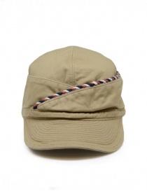 Kapital berretto beige con cordino online