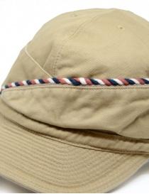 Kapital berretto beige con cordino cappelli acquista online