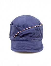 Kapital berretto blu navy con cordino online