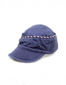 Kapital berretto blu navy con cordino
