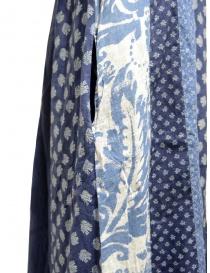 Kapital long sleeveless indigo mixed fantasy dress womens dresses buy online