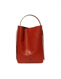 D'Ottavio E47 red rectangular bag with lizard print price