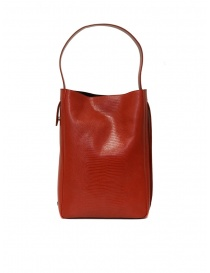 D'Ottavio E47 red rectangular bag with lizard print bags buy online