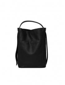 D'Ottavio E47 rectangular black bag buy online