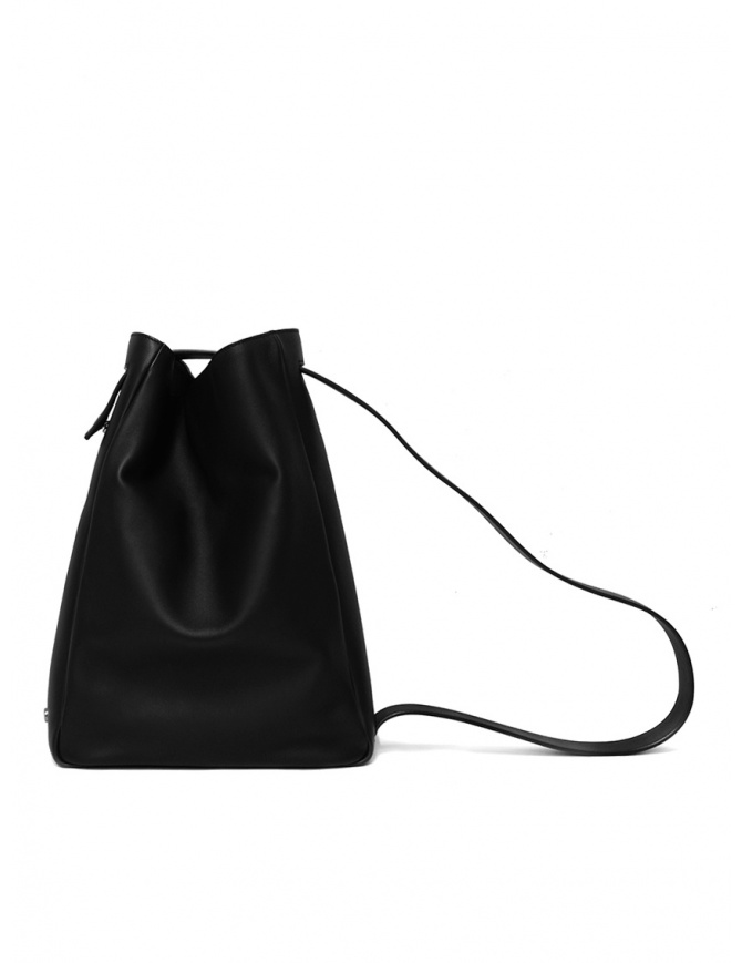 D'Ottavio E47 rectangular black bag E47VO999 bags online shopping