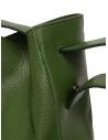 D'Ottavio E47 borsa verde rettangolare stampa lucertola prezzo E47TS502shop online