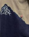 Kapital t-shirt kaki con Monte Fuji blu e scalatore EK-942 SUM prezzo