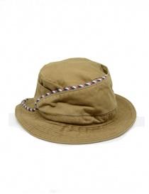Kapital cappello da pescatore beige con cordino