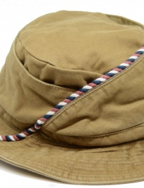 Kapital beige fisherman hat with string hats and caps buy online