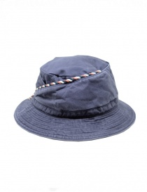 Kapital blue fisherman hat with string